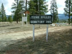 Tunk Valley Cemetary, Riverside, Okanogan County, Washington